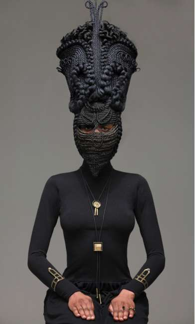 The 'Highness' Photo Series Combines Fashion and Tribal Elements trendhunter.com
