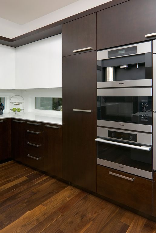 Modern Kitchen With Electrolux Microwave Combination Oven
