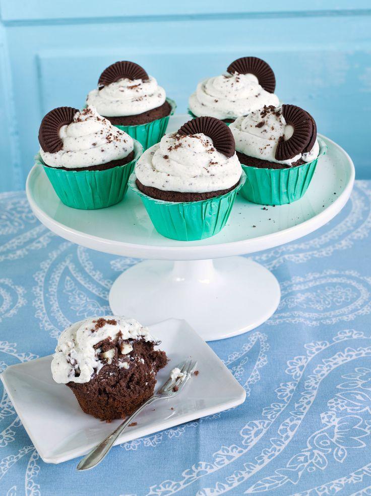 Vanilja-suklaamuffinit | K-ruoka #muffinssit