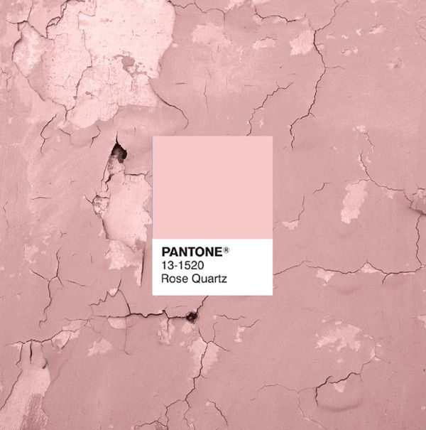Pantone Color of 2016, Rose Quartz