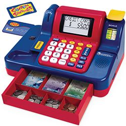 Learning Resources - Pretend and Play Teaching Cash Register