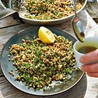 Een heerlijk recept: Couscous salade met kruiden en walnoten