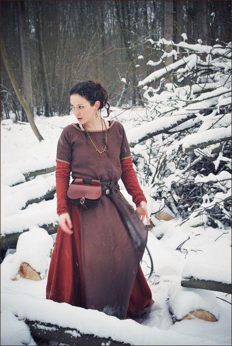 Una, viking inspired costume