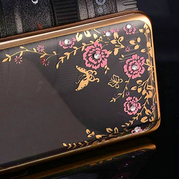 Bling Diamond Clear Back Case For Samsung Galaxy S3 i9300 Plating Gilded Soft TPU Silicone Cover For Samsung S3