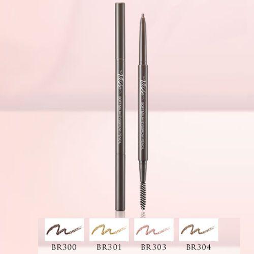 Kose-Japan-VISEE-Soft-amp-Slim-Eyebrow-Pencil-fine-tip-with-brow-groomer-brush