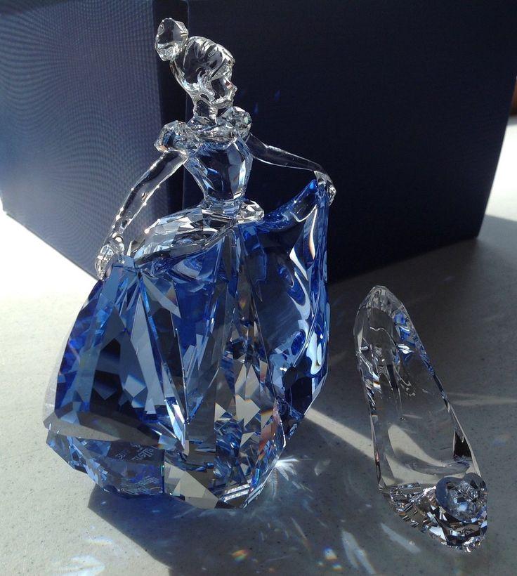 Swarovski Crystal Figurine Brand New 2015 Cinderella Slipper | eBay