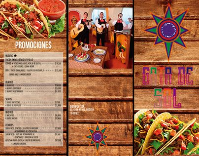 "Check out new work on my @Behance portfolio: ""Mexican restaurant menu"" http://be.net/gallery/51388781/Mexican-restaurant-menu"