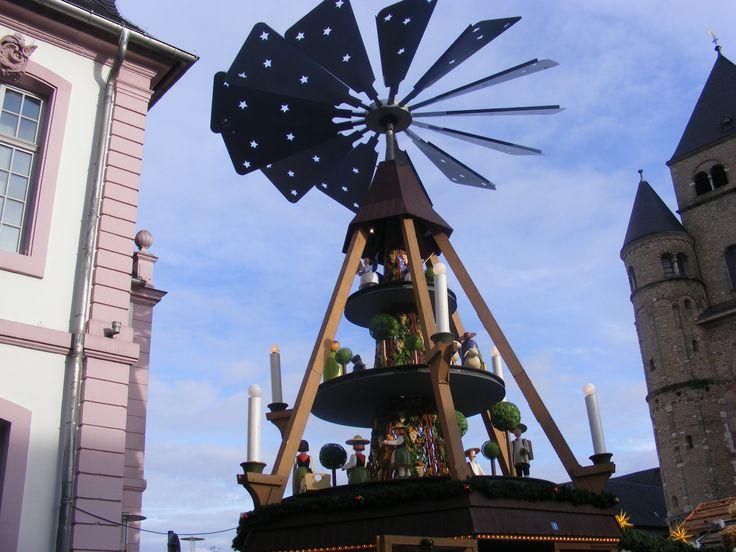 Weihnachtsmarkt. Trier