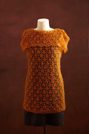 New Lace Tunic - Free Crochet Pattern