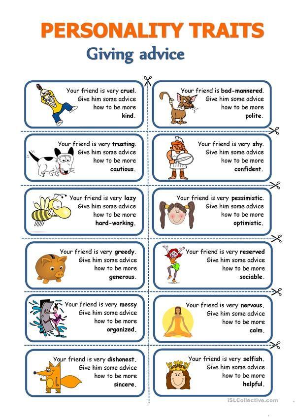 מאגר דפי עבודה באנגלית Conversational English, English Language Teaching,  Speaking Activities English