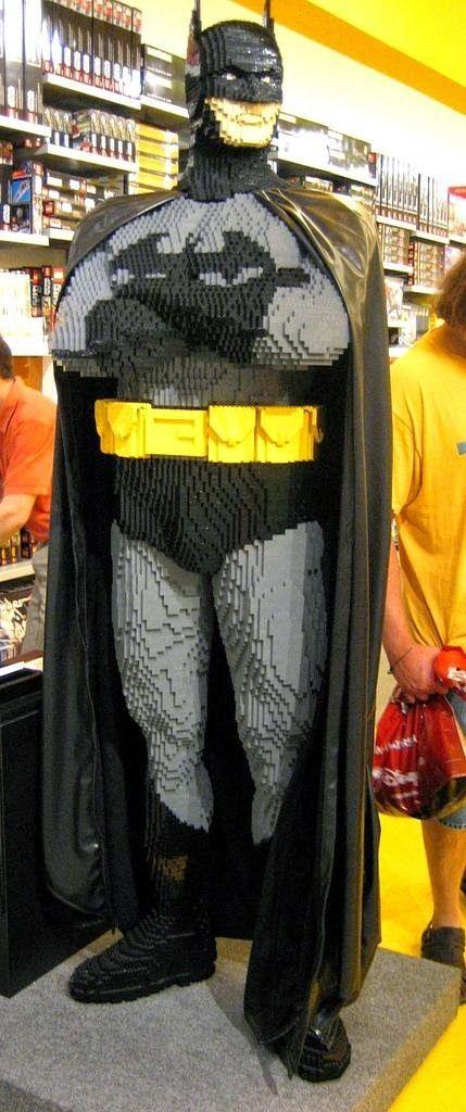 El desván del Freak: Batman, a base de piececitas de construcción.