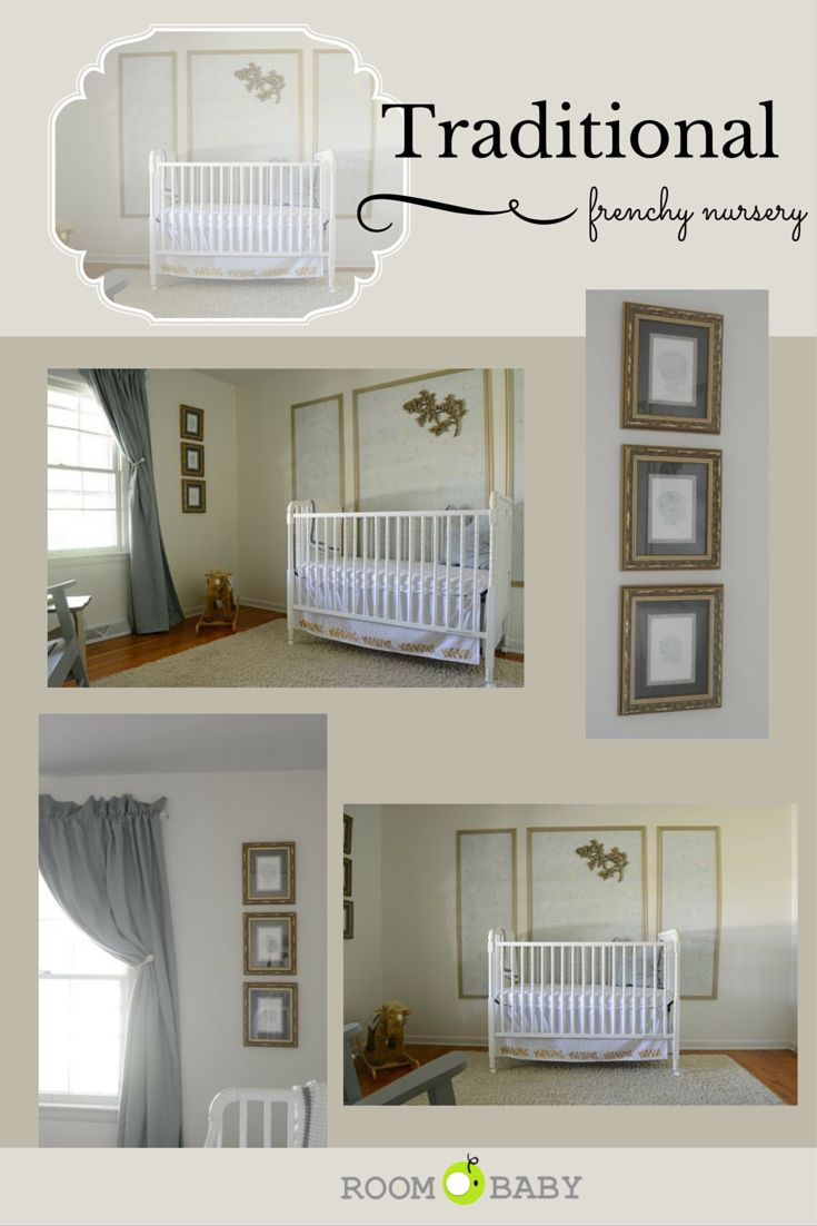 traditional frenchy nursery @apartmenttherapy