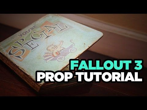 You're Special: Fallout 3 Prop Book Tutorial - YouTube