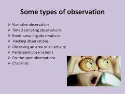 Image result for observation methods in early childhood education