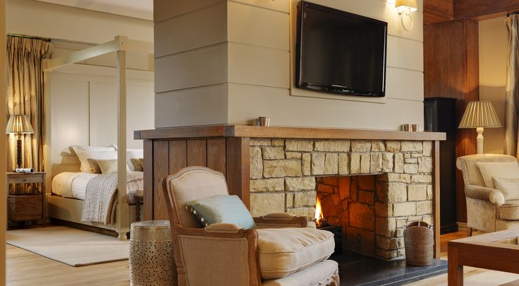 Warm and elegant living in the Presidential Suite