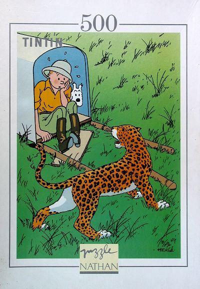 [link] TINTIN  Puzzle - Tintin au Congo - Nathan