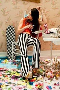 Chelsea Tyler shooting for Alice