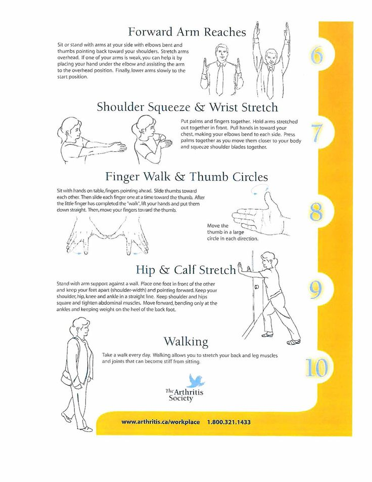 Pin On Arthritis Exercises