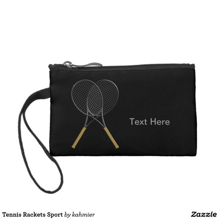Tennis Rackets Sport Change Purse 20% off