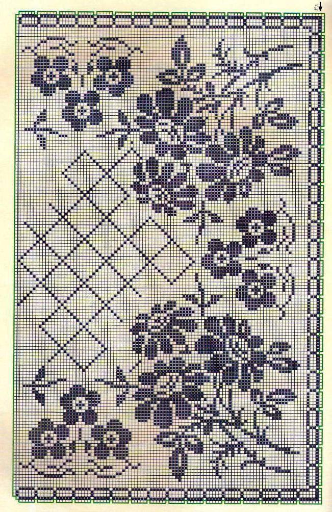 Kira scheme crochet: Scheme crochet no. 1691