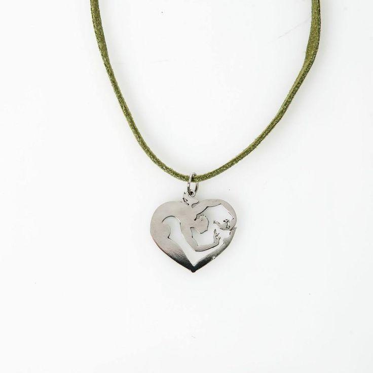 Lasercut jewellery from www.tintown.co.za - Heartman Pendant