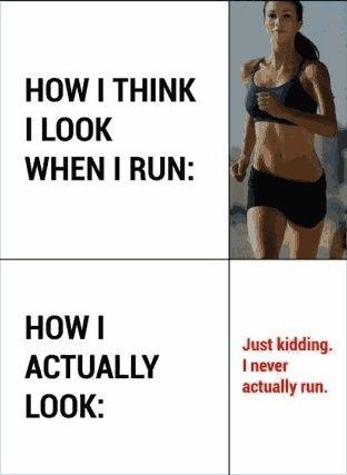 When I Run... - instant Humour