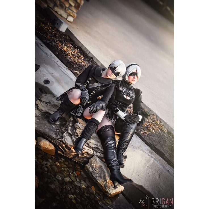 Everything that lives is designed to end.  2B: @megsfa 9S: Me : @briganphotography  What did I cosplay another Square Enix game? No way. I normally have an obsession with any of the Square Enix games and Nier: Automata was no objection. Plus can we just stop and appreciate their character designs seriously wow. Anyway if you havent played Nier: Automata I highly suggest it because its a super in-depth story with a multitude of thoughts and feels that go along with it. 9S and 2B are just as tragic as Romeo and Juliet and A2 is just trying to get by. But I was really excited to have gotten the chance to unveil these costumes at KatsuCon and although they now need some TLC before I take it to Anime Boston it was a tone of fun. Meg makes such a stunning 2B! There will be much more content to come with these babes and Nier I mean these androids need some serious love.  #9s #9scosplay #cosplay #nier #niercosplay #nierautomata #nierautomatacosplay #nines #ninescosplay #nier9s #nier9scosplay #nierautomata9s #nierautomata9scosplay #2b #2bcosplay #nier2b #nier2bcosplay #nierautomata2b #nierautomata2bcosplay #9sx2b #9sx2bcosplay #2bx9s #2bx9scosplay #squareenix #squareenixcosplay #katsucon #katsuconcosplay #katsucon2018 #katsucon2018cosplay