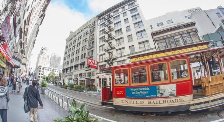 Hotel Stratford San Francisco Conveniently located on San Francisco's historic cable car route and adjacent to vibrant Union Square, Stratford Hotel serves a daily free continental breakfast and offers contemporary rooms with free WiFi.  Little Italy is 1.8 km away.