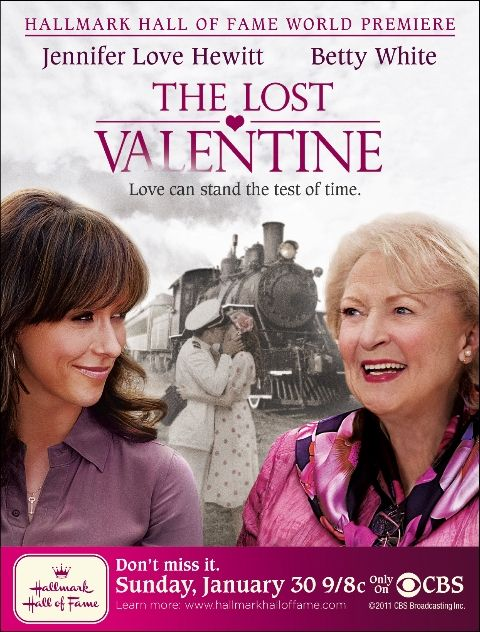Valentine Movie Night: Betty White & Jennifer Love Hewitt- a woman whose husband was a Navy pilot in World War II. Before he left for war, he said goodbye to her at Union Station…and she was pregnant with their first child. The man never gets to see his baby, as his plane goes missing over the Pacific.  Every year for 65 years on the anniversary of their goodbye, Caroline returns to Union Station to remember her beloved husband.