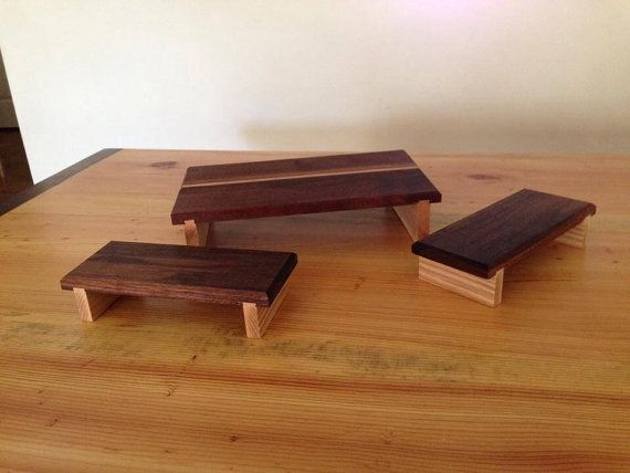 Sushi Serving Tray and Plate Set free shipping by 9Boards on Etsy