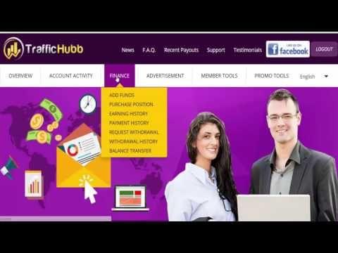 TrafficHubb Доходность и покупка пакетов в рекламном проекте TrafficHubb