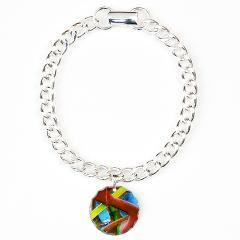 Matchbox abstract Charm Bracelet,
