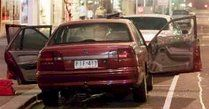 Victor Pierce, 42, was killed on May 1 2002, while in a car parked in front of a Port Melbourne supermarket.
