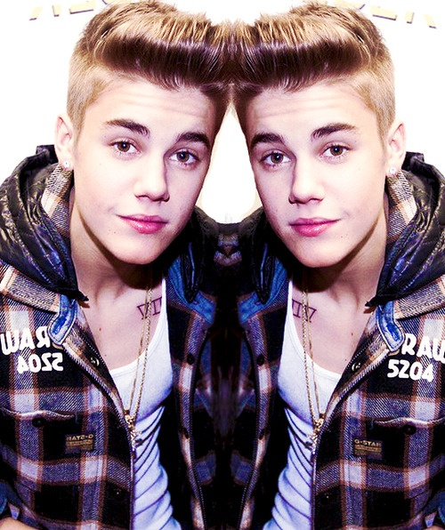 Two biebers. One for me and the other for my sister. ! get the cute one. Who am I kidding they are both so cute