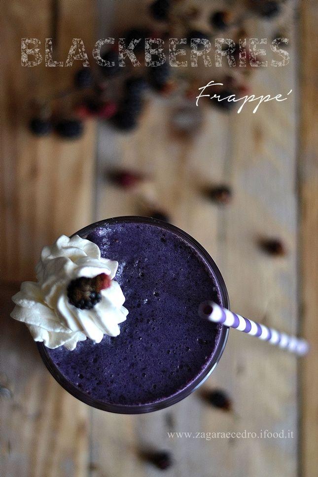 BlackBerries Frappè http://www.zagaraecedro.ifood.it/…/09/blackberries-frappe.h… #zagaraecedro #blackberries #more #moreselvatiche #frappè #ghiaccio