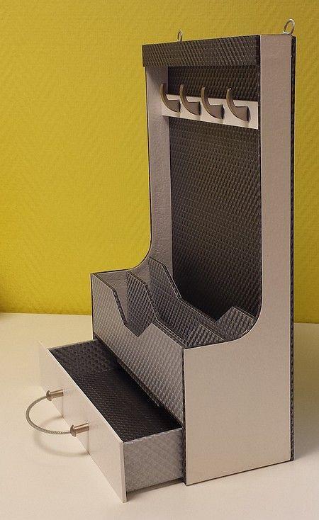 913 best ideas de carton images on Pinterest Furniture, Cardboard - Fabriquer Une Chambre Noire En Carton