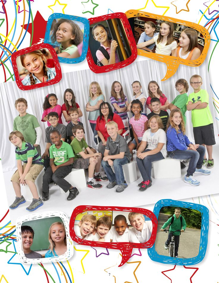Elementary School Yearbook Sample   YearbookLife
