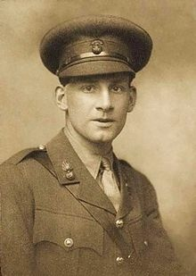 Siegfried Sassoon (1886–1967) was an English poet, author and soldier. Decorated for bravery on the Western Front, he became one of the leading poets of the First World War. His poetry both described the horrors of the trenches, and satirised the patriotic pretensions of those who, in Sassoon's view, were responsible for a vainglorious war..