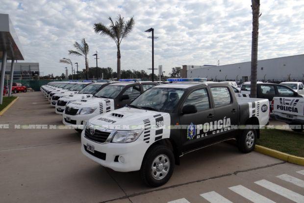 Policia de Chaco Argentina