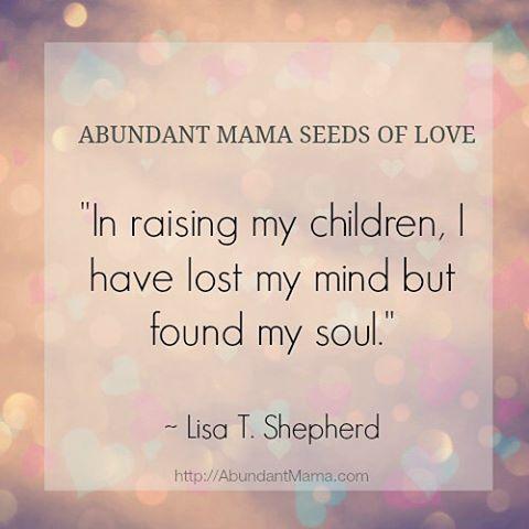 What do you think? True? #AbundantMama #momsoninstagram #parenting #motherhood
