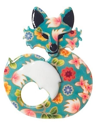 She's So Foxy in Floral Colourway (at last!!)