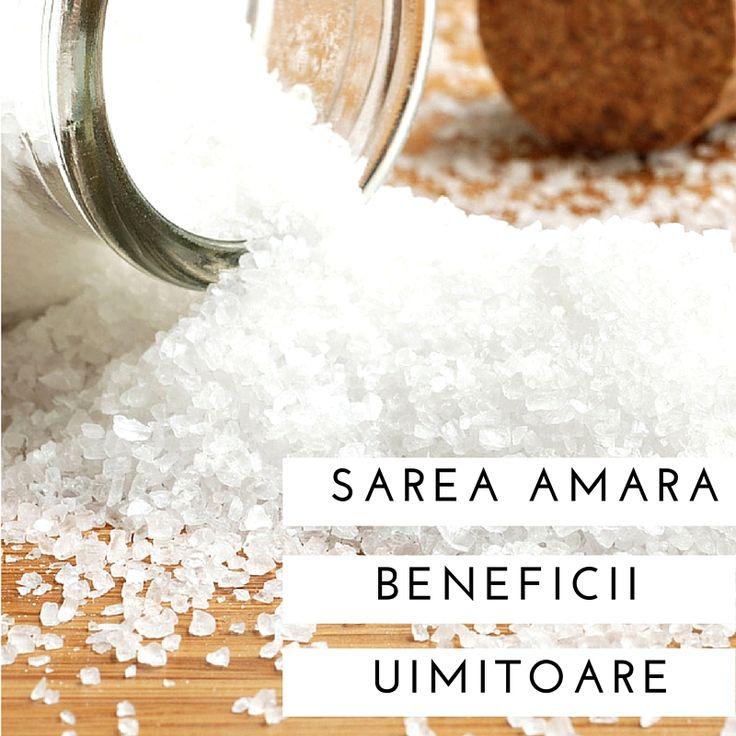 Sarea amara nu este o sare, ci un compus mineral pur de magneziu si sulfat. Este cunoscuta ca fiind un remediu natural impotriva multor…