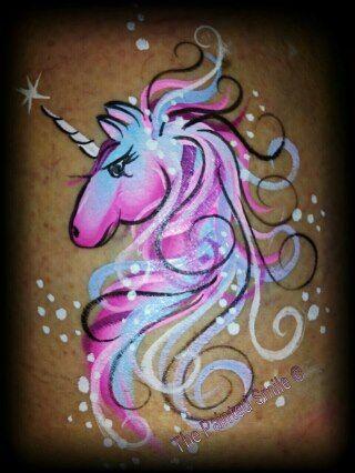 unicorn magic #facepaintingideasforadults