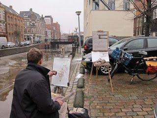 Joost Doornik Blog: Schilderen met Hans Versfelt deel 2