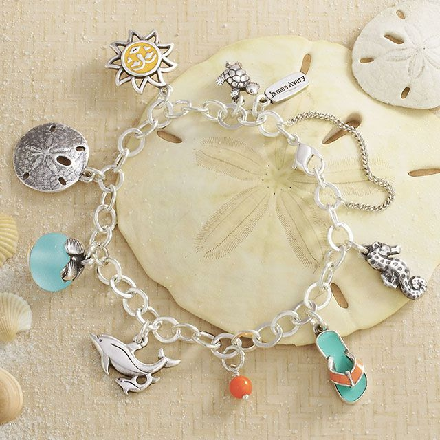 The Sea Sun And Sand Charm Bracelet Features A Fun Collection Of Our Most Loved Summer Charms It S Pre Styled Ready To