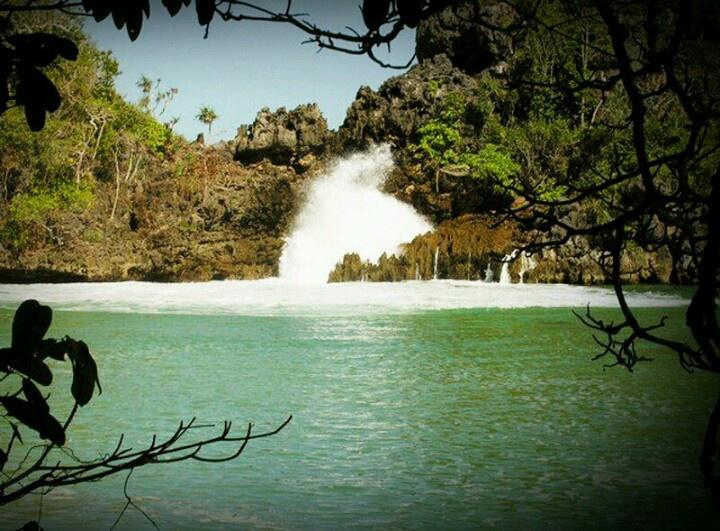 hidden paradise at Sempu Island Malang Indonesia
