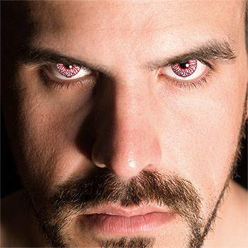 Blood Shot - Blutauge mit Sehstärke #contacts #Zombie #Kontaktlinsen