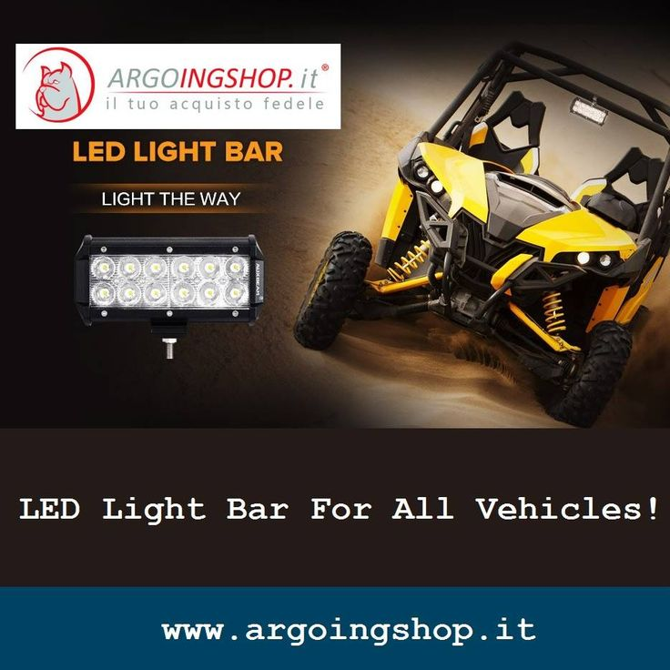 ✔ LED Light Bar For All Vehicles!🚕🚙🚗🚔🚘🚖  🚍 The ArgoingShop offers light bars, flood LED light bar, LED driving lights, headlights, tail lights, fog lights & lighting accessories for all Jeep & vehicles in Italy & Europe Market.  ✔ Visit Shop Here: www.argoingshop.it . . . . . . #LEDLights #LED #Jeep #SpotLightBars #LightBar #LEDLightBar #Headlights #TailLights #FogLights #ArgoingShop #Italy #Europe