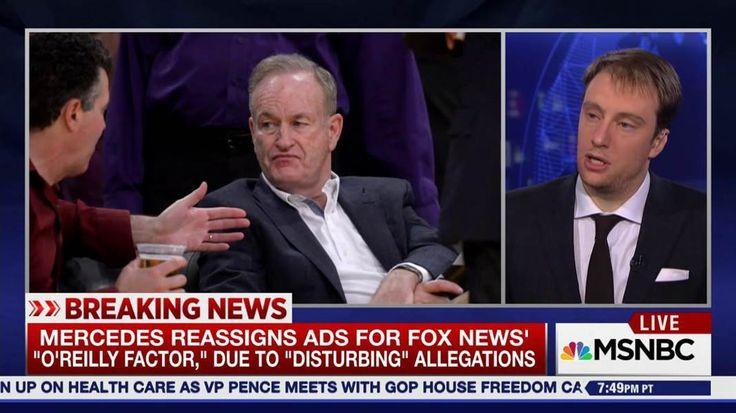 "Mercedes-Benz pulls ""The O'Reilly Factor"" ads after reports of a $13M harassment settlement against Bill O'Reilly. Plus, a new suit against fmr. chairman Roger Ailes. Gabriel Sherman, who literally wrote the book on Fox News, calls O'Reilly's silence ..."