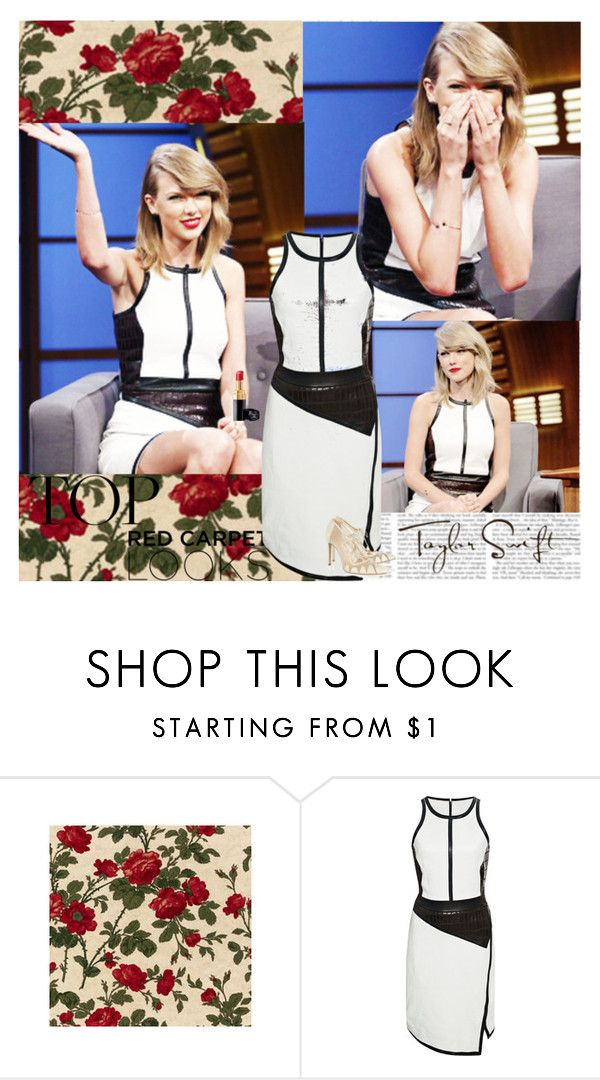 """""""Taylor Swift~Late Night With Seth Meyers 2014"""" by tvshowobsessed ❤ liked on Polyvore featuring Jonathan Simkhai and Bionda Castana"""